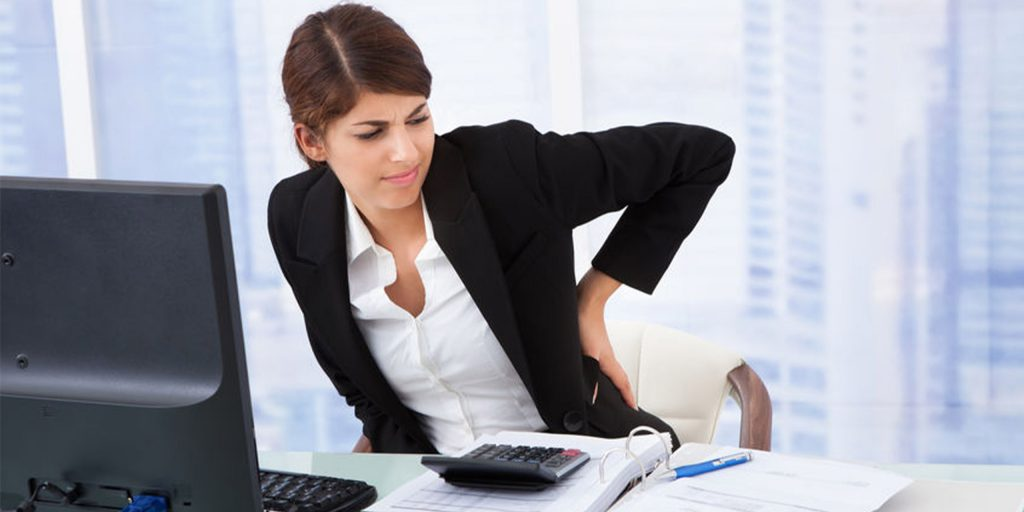 best posture for working at a desk